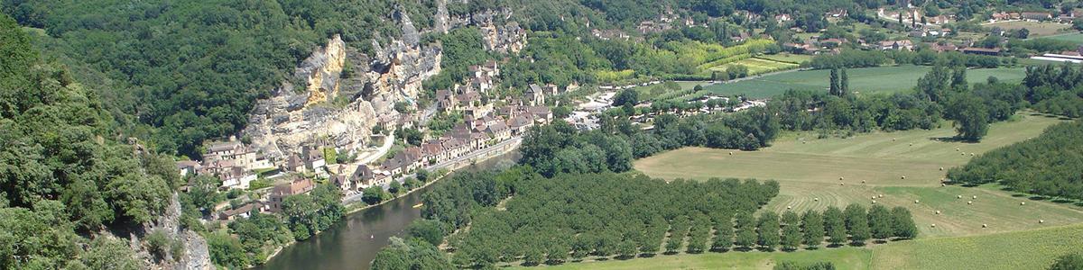 La découverte de la Dordogne