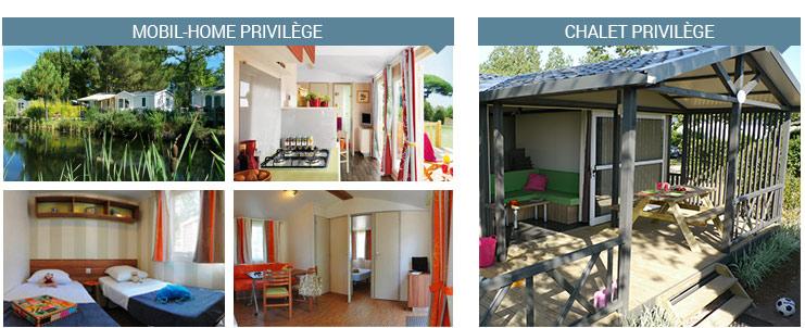 location mobil home haut de gamme en france campings vagues oc anes. Black Bedroom Furniture Sets. Home Design Ideas