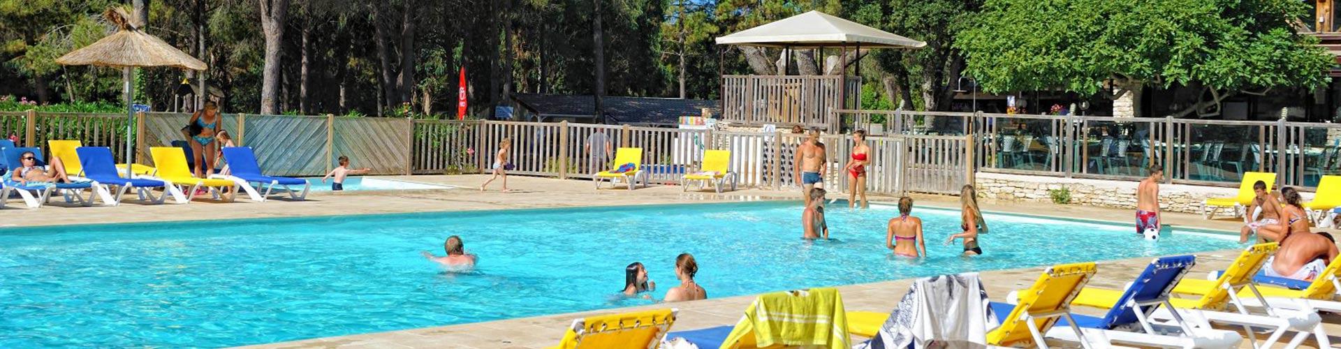 Camping le campo di liccia bonifacio en corse du sud - Camping bonifacio piscine ...