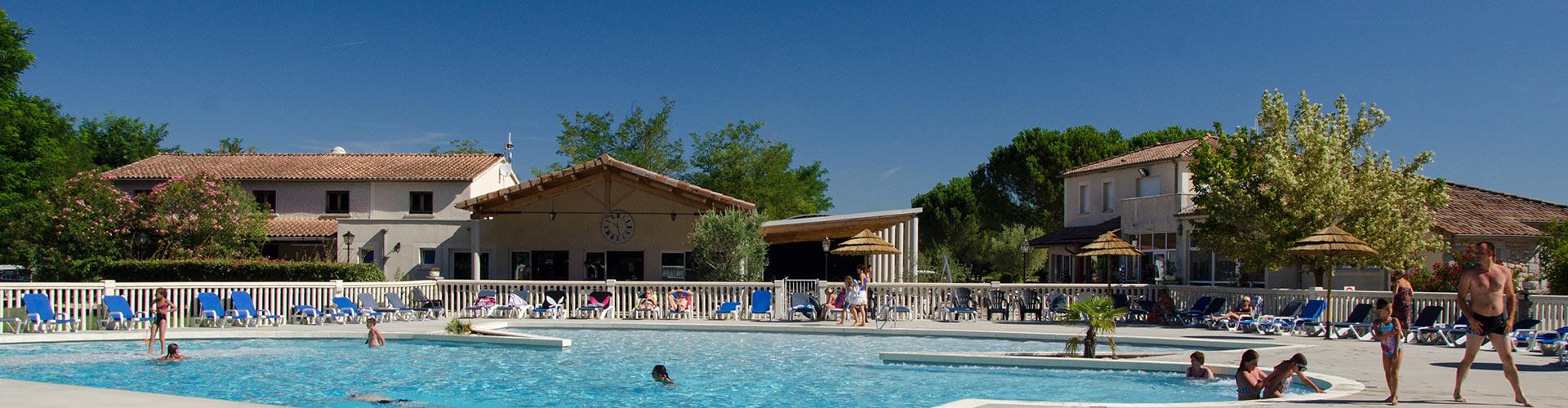 Camping la grand 39 terre ruoms en ard che camping 3 for Club vacances ardeche avec piscine