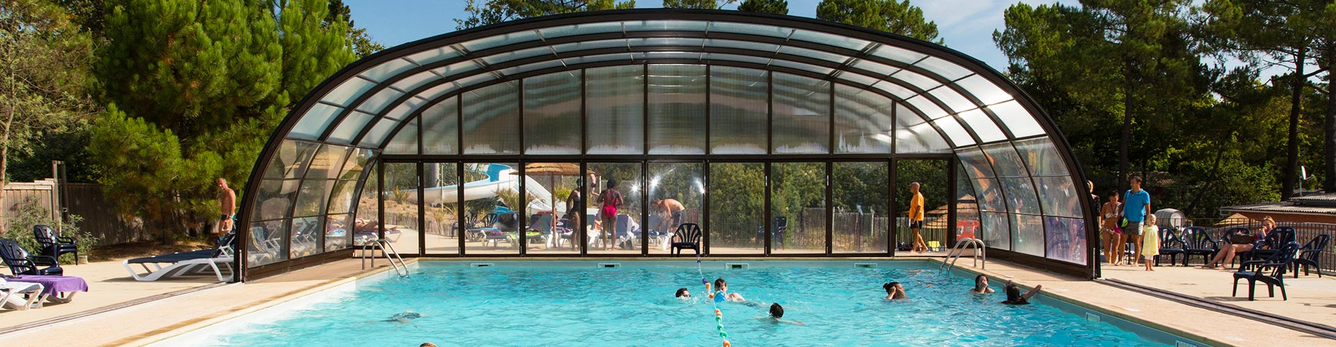 Camping le palace soulac sur mer camping 4 toiles en for Camping gironde piscine