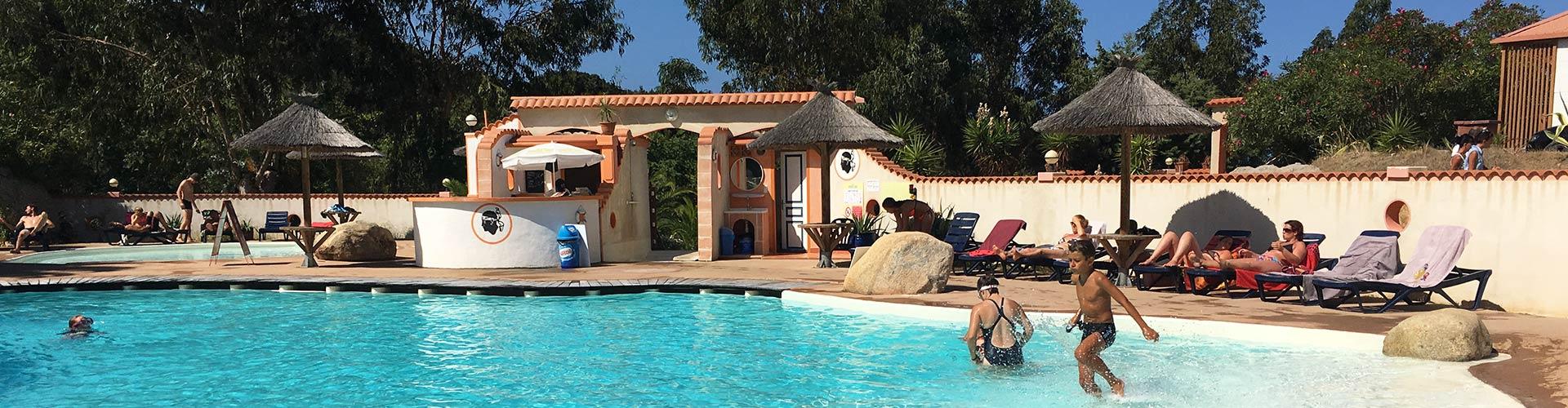 Camping tikiti propriano en corse du sud camping 3 for Camping avec piscine corse du sud