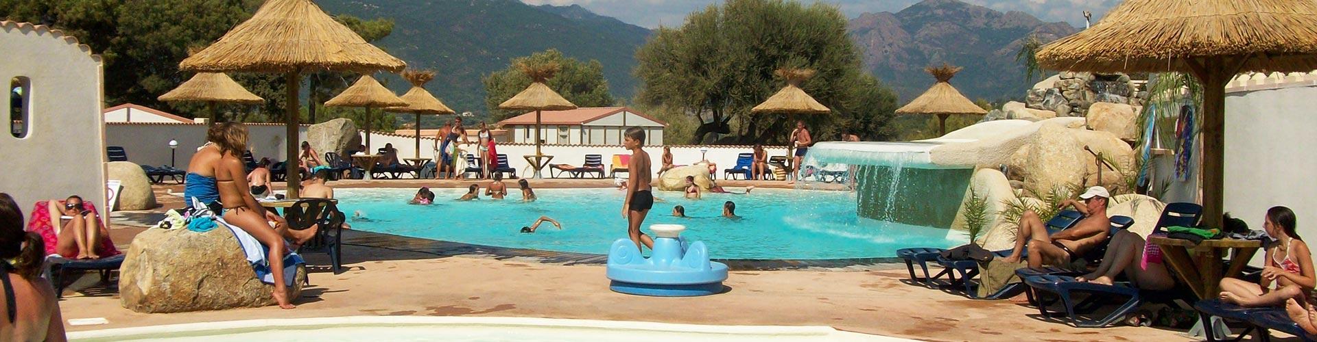 Camping tikiti propriano en corse du sud camping 3 for Camping corse du sud avec piscine