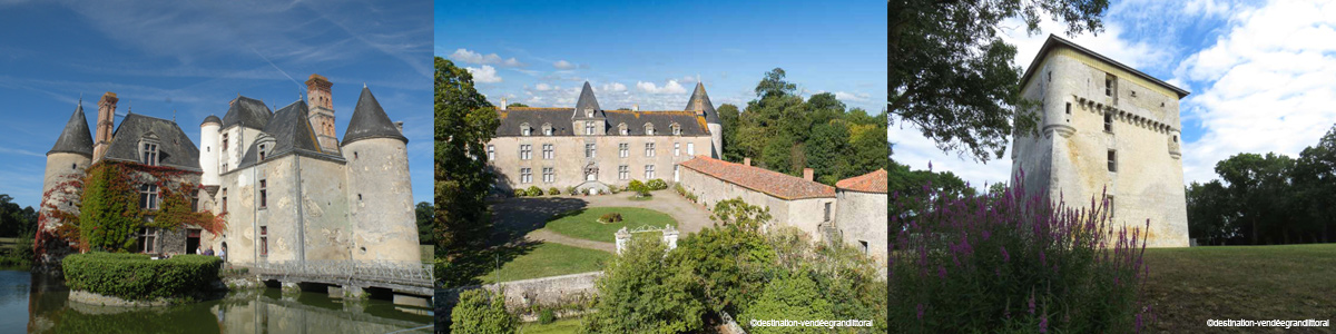 Châteaux à la tranche-sur-Mer et Monuments