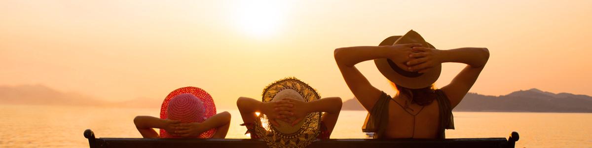 Vacances pendant l'été Indien