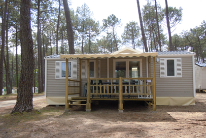 Location mobil home 4 6 personnes 2 chambres 28 m2 vacances mobil home france - Camping mobil home 4 chambres ...