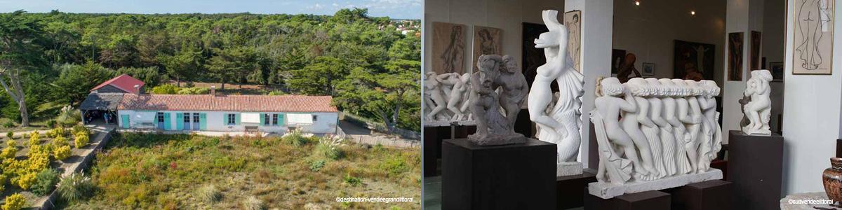 Musée à la Tranche-sur-Mer et artisanat
