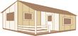 Terrasse couverte intégrée