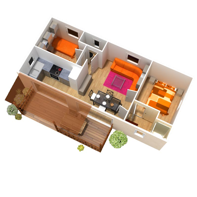 Location mobil home 4 6 personnes 2 chambres 28 m2 mobil home haut de gamme louer - Camping mobil home 4 chambres ...