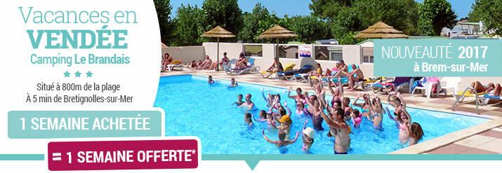 Promo vacances en Vendée à Brem-sur-Mer
