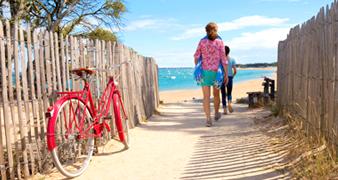 Vélo La Tranche-sur-Mer : Visiter à 2 roues